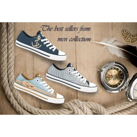 Hollandse sneakers 'Anchor'