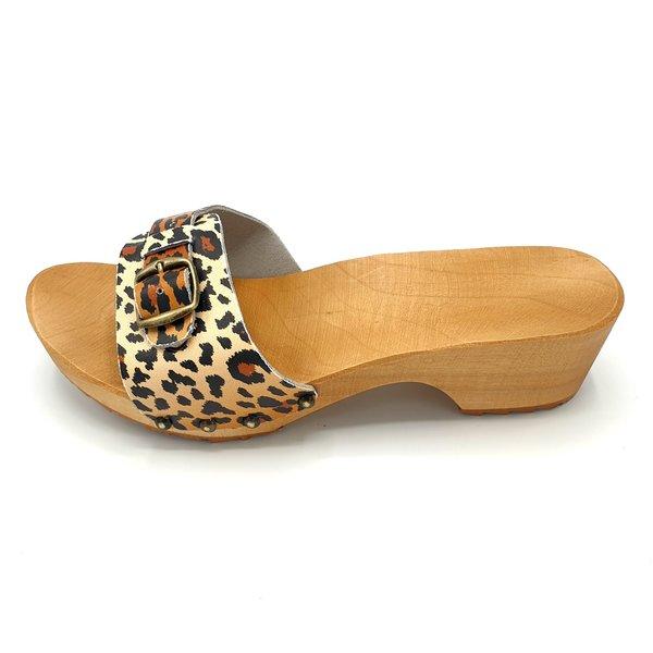 DINA Slippers panter design