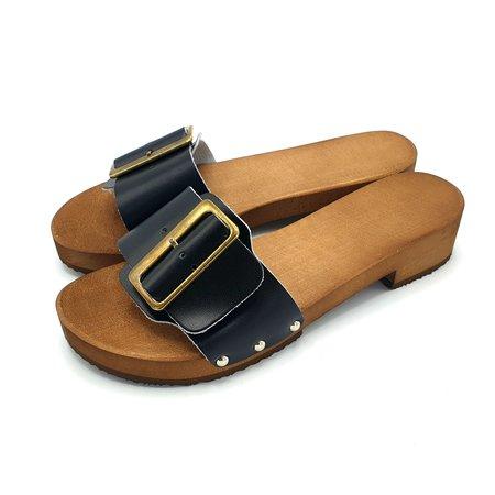 DINA Slippers black S2