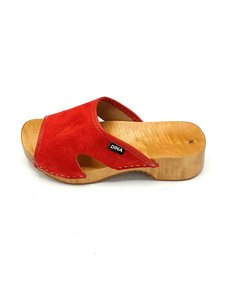 DINA Sandalen Rot (Klatscher von Dina)