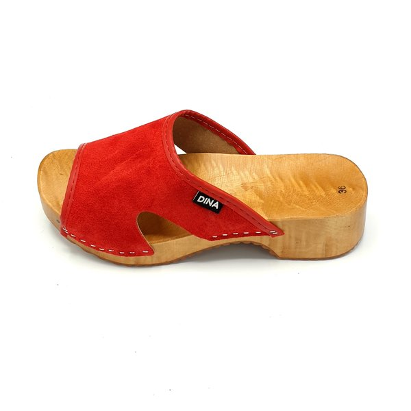 DINA Slippers red (Dina Sandals)