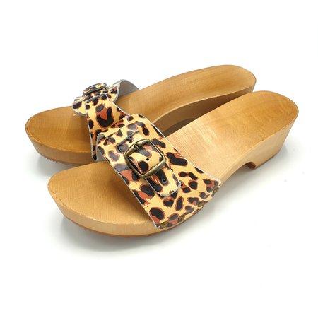 DINA Slippers animal print