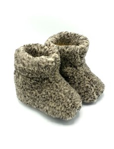 DINA slippers 100% wool grey unisex