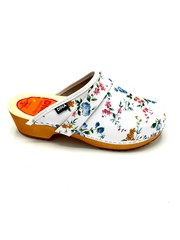 DINA Swedish clogs Flowers