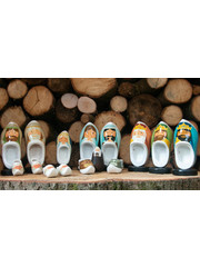 Woodenshoe christmas group 16pcs