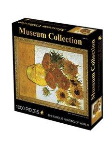 Puzzel 1000 stukje van gogh zonnebloem