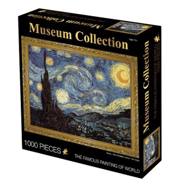 Puzzel 1000 stukjes van gogh starry night