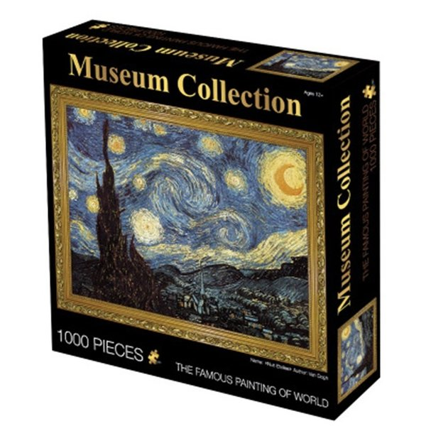 Puzzle 1000pcs Van Gogh starry night