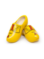 Yellow farmer clogs