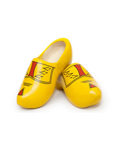Yellow farmer clogs