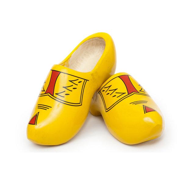 Farmer's gelbe Clogs