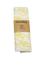 Toweltje Toweltje gelbe Clogs