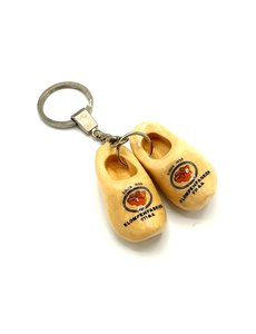 Keyhanger with two woodenshoes with your logo