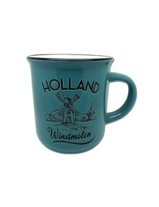 Mug blue windmill Holland