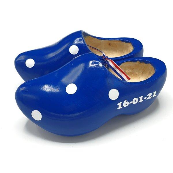 Maternity clogs blue