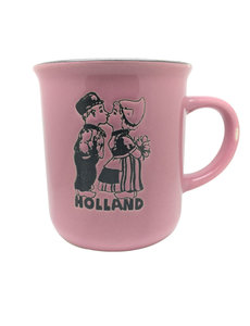 Mug Pink kissing couple