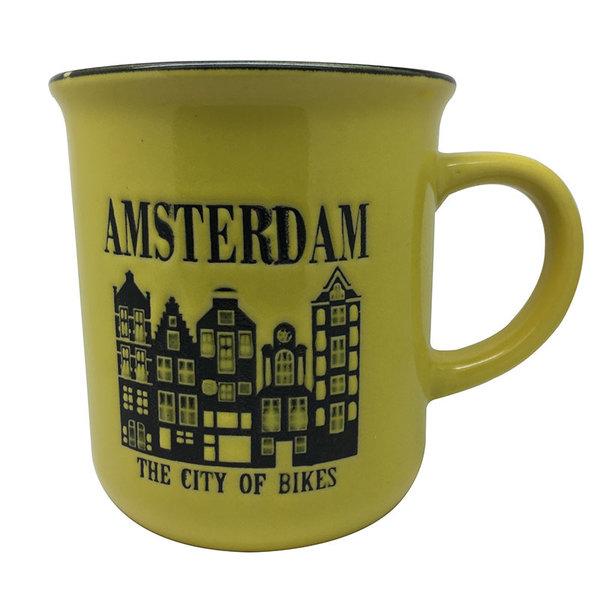 Mug yellow amsterdam