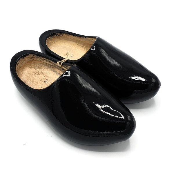 Clogs anthracite black