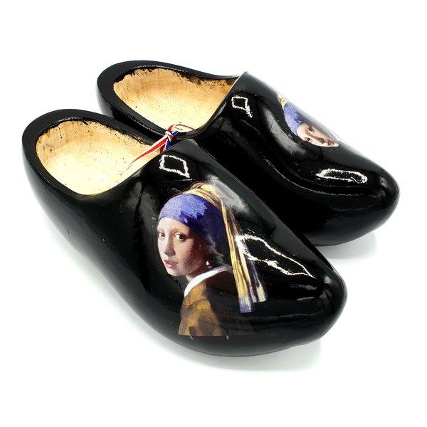 Clog Mädchen mit einem Perlenohrring - Johannes Vermeer
