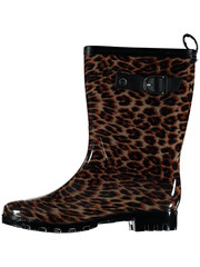 All season boots leopard
