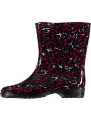 Laarzen all-season luipaard rood