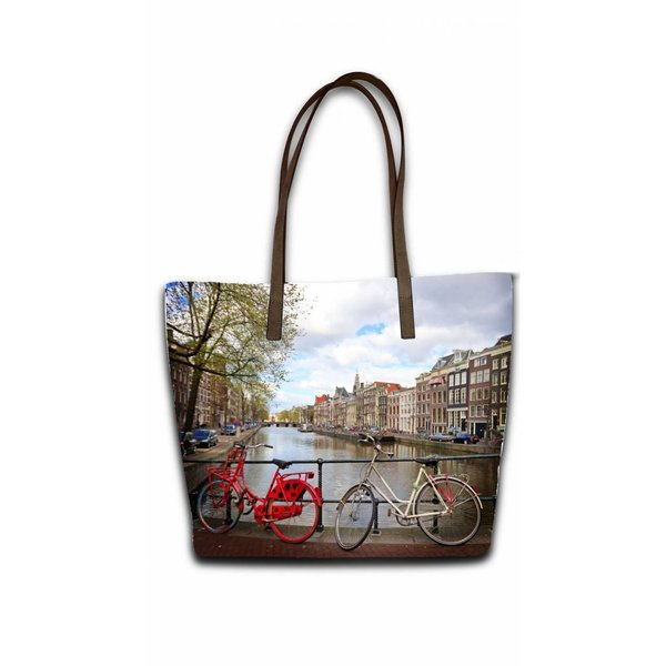 Celdes Bagset bikes at the canal Amsterdam (set of two bags)
