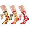 Pizza slice socks