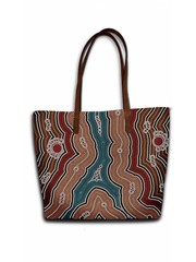 Celdes Tassenset Aborgine Art (set van twee tassen)