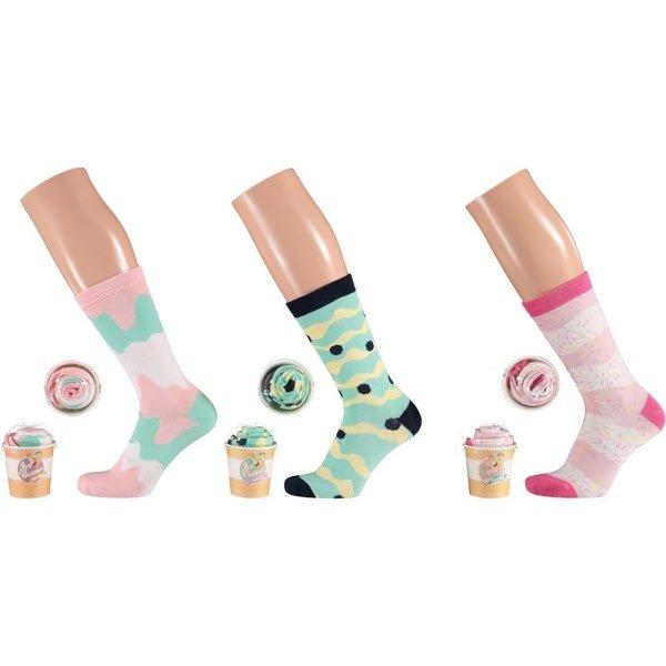 ijsjes sokken 36-41