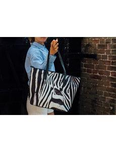 Celdes Taschenset Zebradruck (Set mit zwei Taschen)