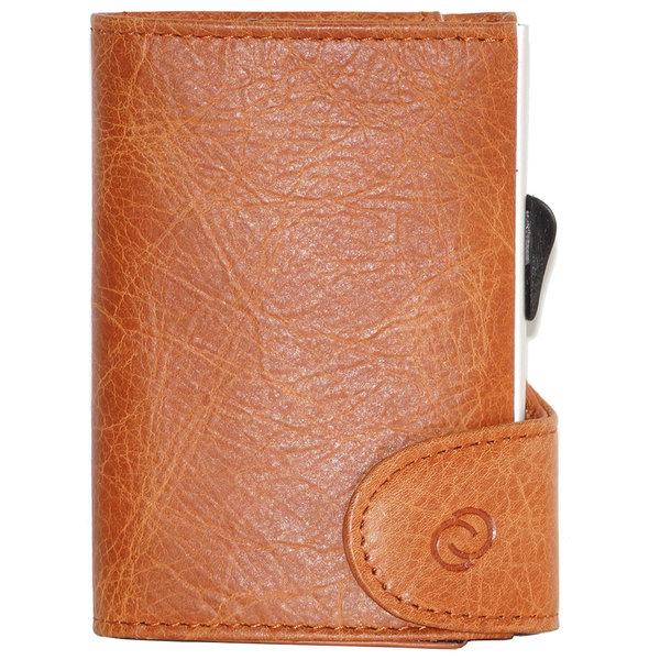 C-Secure Wallet – Vintage Cognac