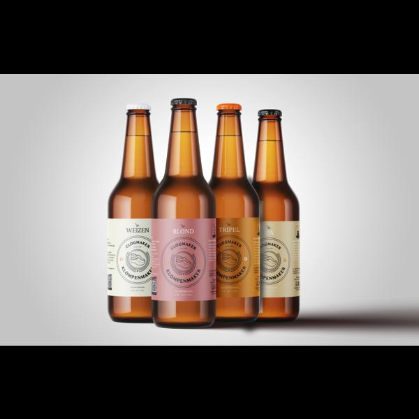 Beer package Klompenmakersbier (4 beers)