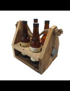 Beachwood beer box with opener 4 x beer