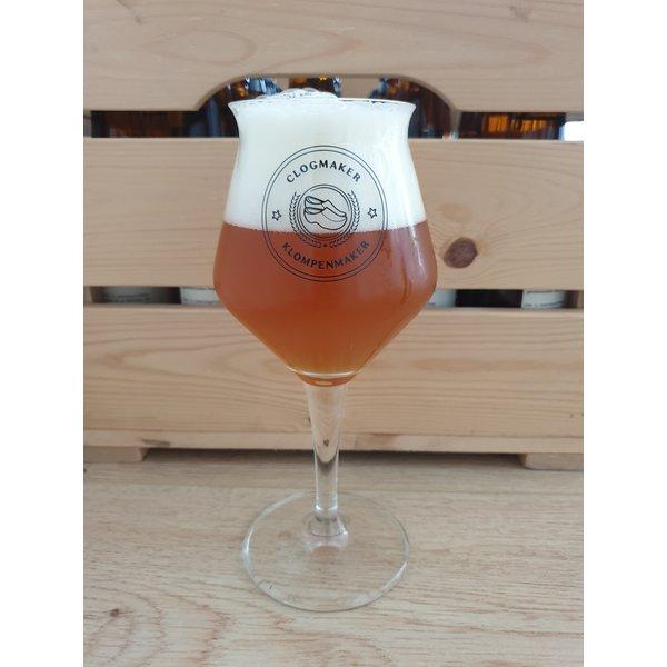 Clog maker beer glass