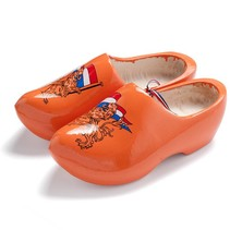 Dutch lion clogs