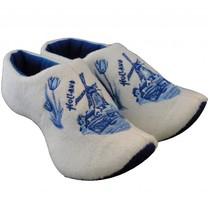 Klomppantoffels molen Delftsblauw