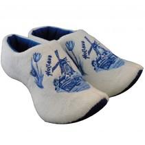 Holland slippers windmill Delftblue