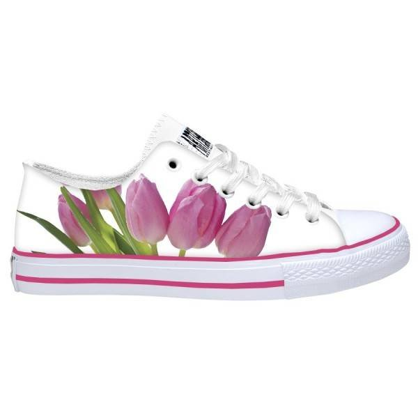 Hollandse sneakers 'pink tulips'