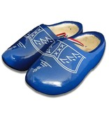 Traditional blue woodenshoes