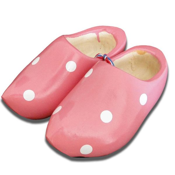 Tupfen Clogs rosa