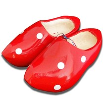 Stip clogs Red