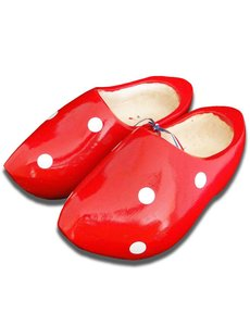Wooden shoes Red Dots