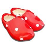 Stip clogs red