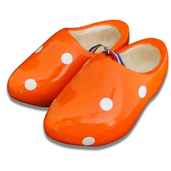 Stip clogs orange