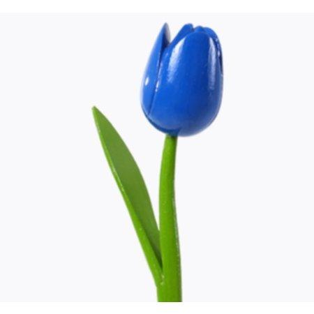 Houten tulpen boeket 10 tulpen
