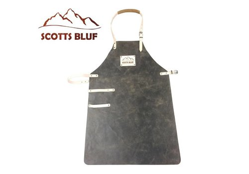 Scotts Bluf BBQ Schort Scottsbluf zwart/tan used look