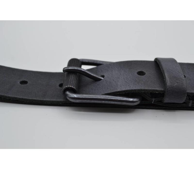 40mm brede echt lederen riem. Volledig in Nederland geproduceert.