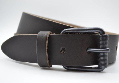 Scotts Bluf split lederen 40mm bruine casual riem
