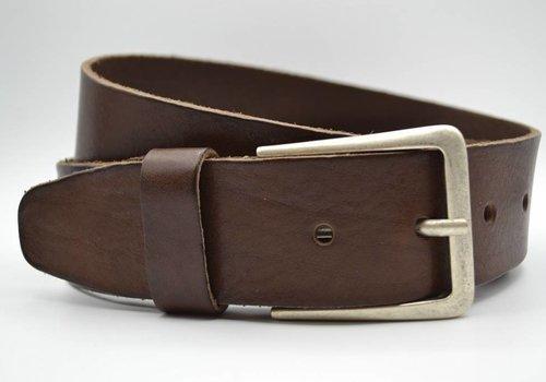 Scotts Bluf mooie bruine vintage volnerf jeansriem