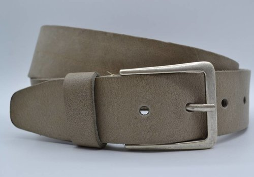 Scotts Bluf mooie taupe vintage volnerf jeansriem